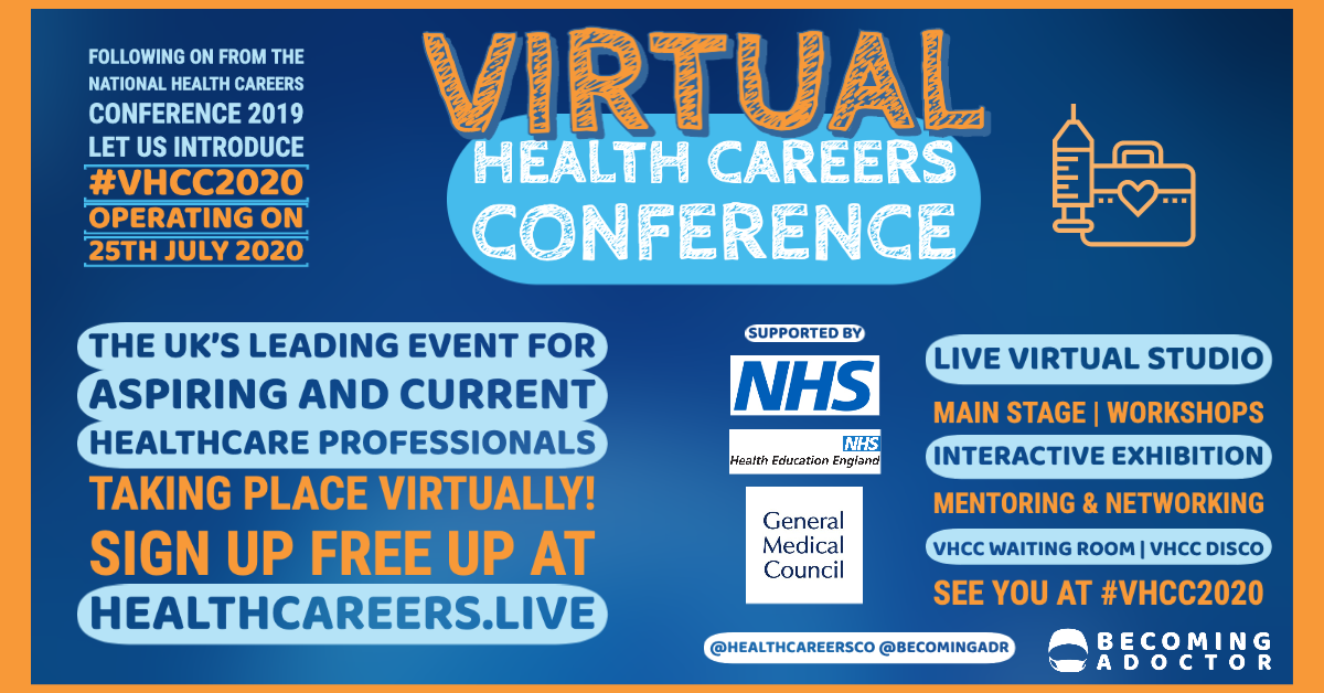 Virtual Health Careers Conference 2020